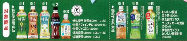 サントリーフーズキャンペーン対象商品