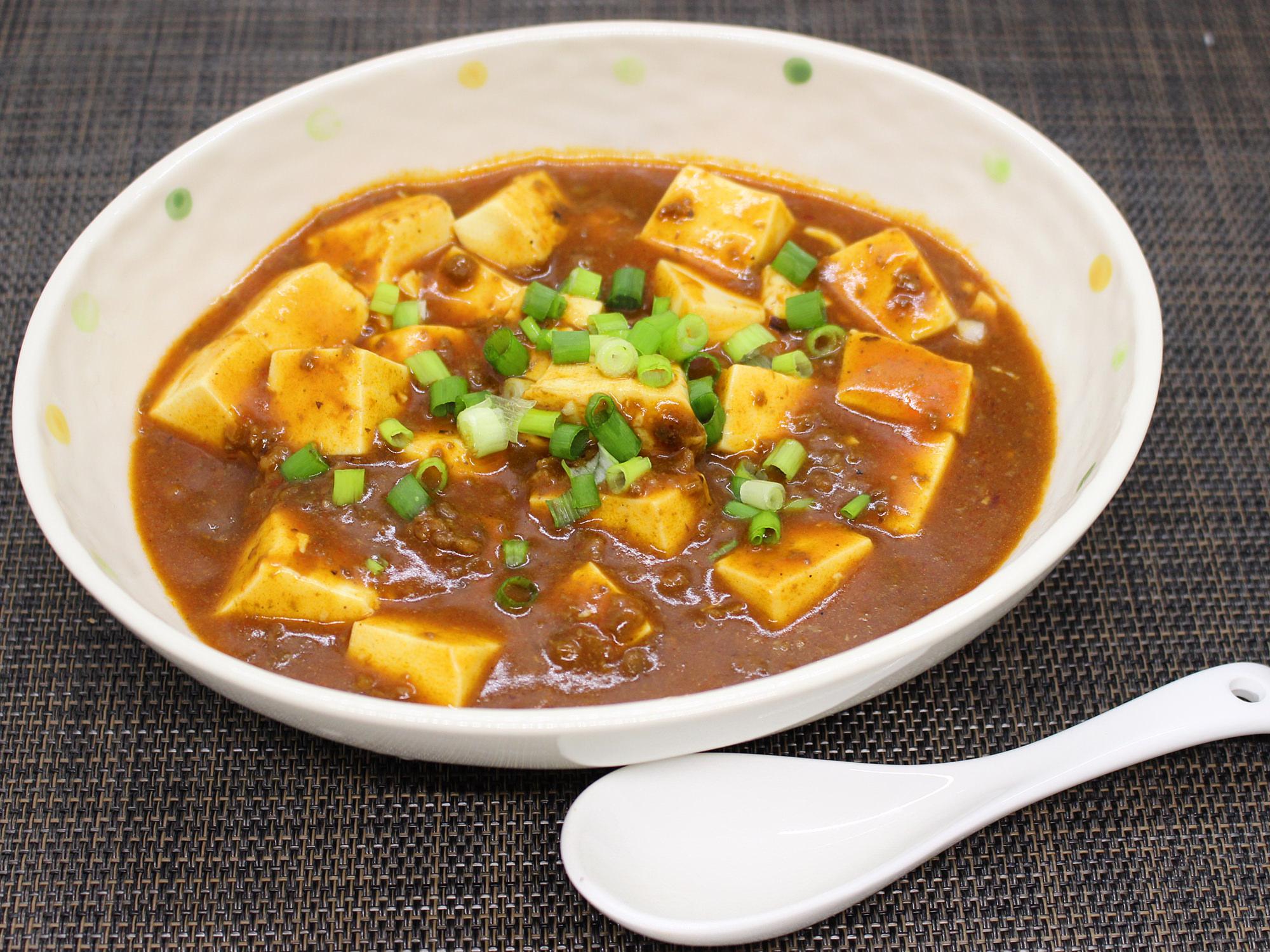 麻婆豆腐辛口1