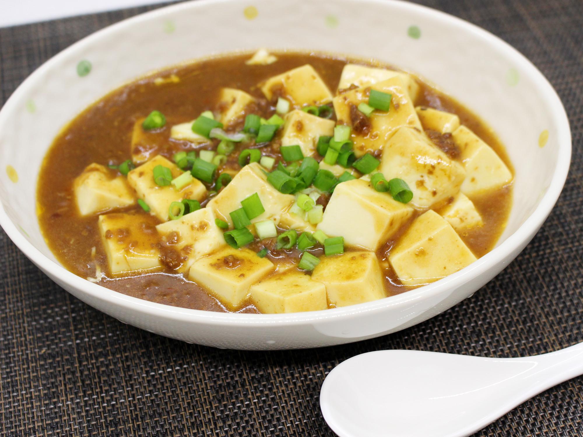 麻婆豆腐中辛1