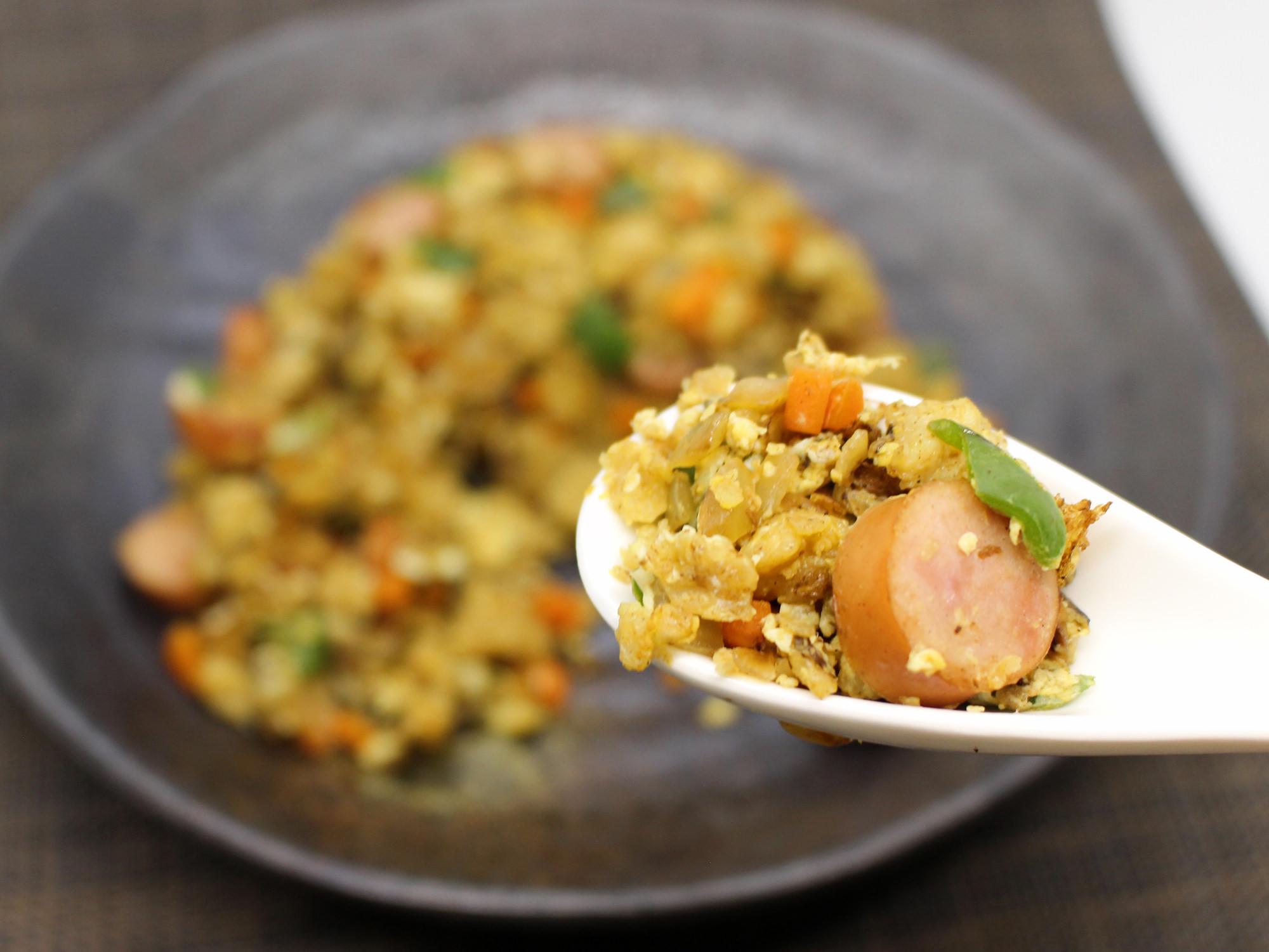 オートミール炒飯2