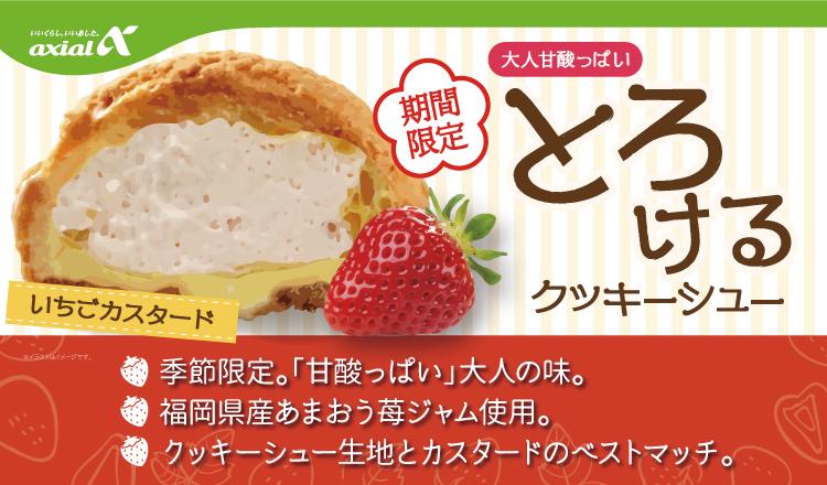 【期間限定】大人甘酸っぱい-とろけるクッキーシュー